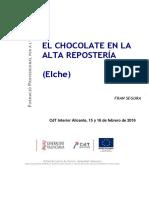 260 El Chocolate en La Alta Reposteria Elche 2016