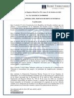 RO# 873 - 2S - Normas Inscripción, Actualización y Cancelación en El RUC de Sociedades No Residentes en Ecuador Propietarias de Bienes Inmuebles (31 Oct. 2016)