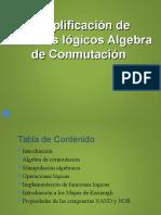 Simplificacion Circuitos Logicos Algebra Conmutacion