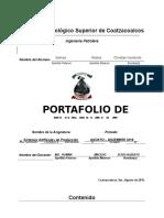 Formato de Portafolio de Evidencias SAP