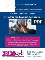 FISIOTERAPIA MANUAL Terapia Manual