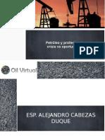 Presentacion petroleos crisis y retos