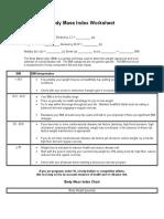 Body Mass Index Worksheet.doc
