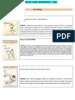 Catalogo de  Esportes 2015