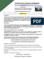 Informe Escrito Del Rendimiento de Cuentas 2016