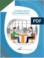 MEP Guia Constitucion y Formalizacion