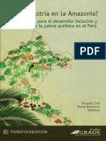 Agroindustria en La Amazonía