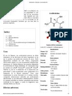Acetilcisteína - Wikipedia, La Enciclopedia Libre
