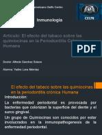 El Efecto Del Tabaco Sobre Las Quimiocinas De