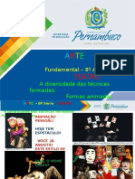ProfessorAutor_Arte_Arte I 8º Ano I Fundamental_TEATRO - Diversidade Nas Técnicas Formas Animadas