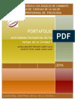 Formato de Portafolio II Unidad 2016 DSI I 1
