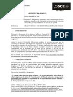 041-16 - Pre - Policia Del Peru - Experiencia Del Personal