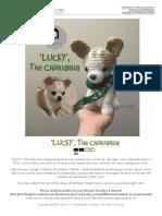 Chihuahua Dog Amigurumi Crochet Pattern v3 LittleMeeCreations