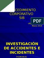 Investigacion de Accidentes