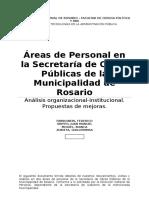 RRHH en Secretaría de Obras Públicas de Rosario
