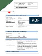 Acetileno disuelto40212