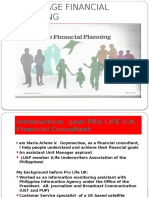 LIFE STAGE FINANCIAL PLANNING for  PROTECTION, EDUCATION,