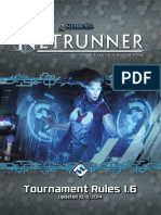 Android-Netrunner Tournament Rules
