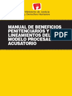 Manual Beneficios Penitenciarios PERU