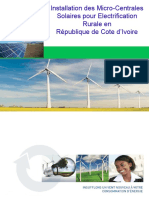 1 IVORY COAST - Micro Grid Solar PV Solutions Rev2