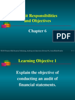 Arens06. Audit Objectives
