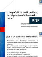 Diagnostico Participativo Desarrollo Local