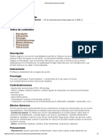 Medicamento Dinitrato Isosorbida 2015