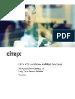 Citrix VDI Handbook (7.6 LTSR)