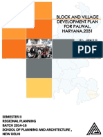 Block and Village Development Plan, Palwal, Haryana.pdf