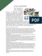 La Biotecnología en La Salud Humana