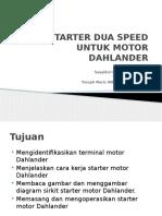 Starter Dua Speed Untuk Motor Dahlander