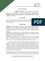 RES TEEU-016-2016 Interpretación Consulta Sigrid Segura
