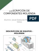 Descripción de Componentes Molienda