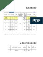 En Vs Z-scores