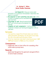 classroom mgnt plan