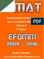 Livro Xmat Vol03 Efomm - 2009a2016 - 2aed