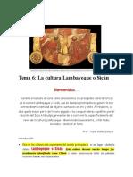 06 La Cultura Lambayeque o Sicán