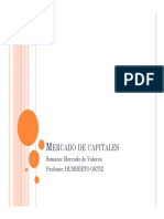1.- Mercado de Capitales