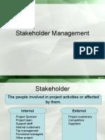 4 Stakeholder Management