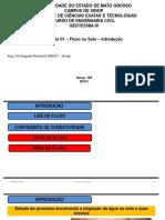 Fot 11964aula 01 - Fluxo No Solos - Intboducao PDF Aula 01 - Fluxo No Solos - Introducao