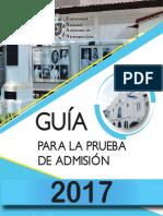 Guia Para PruebaAdmision2017