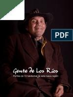 Gente de Los Ríos. Perfiles de 13 habitantes de esta nueva región