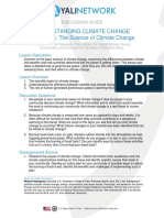 Climate Change the Basics Discussion Guide