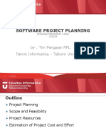 Software Project Planning (Feasibility)