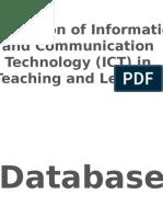 7c Database Electronic Presentation