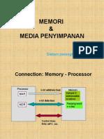 Memori Dan Media Penyimpanan