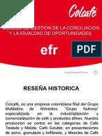 Modelo de Conciliacion e Igualdad de Oportunidades Colcafe