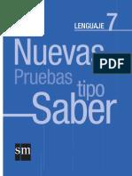 Nueva Prueba Saber Leng 7