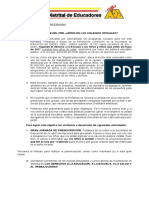 Carta Abierta a Comunidad Educativa Preescolar