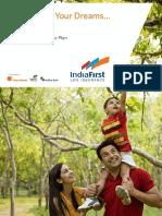 IndiaFirst Money Balance Plan Sales Brochure 143L017V03